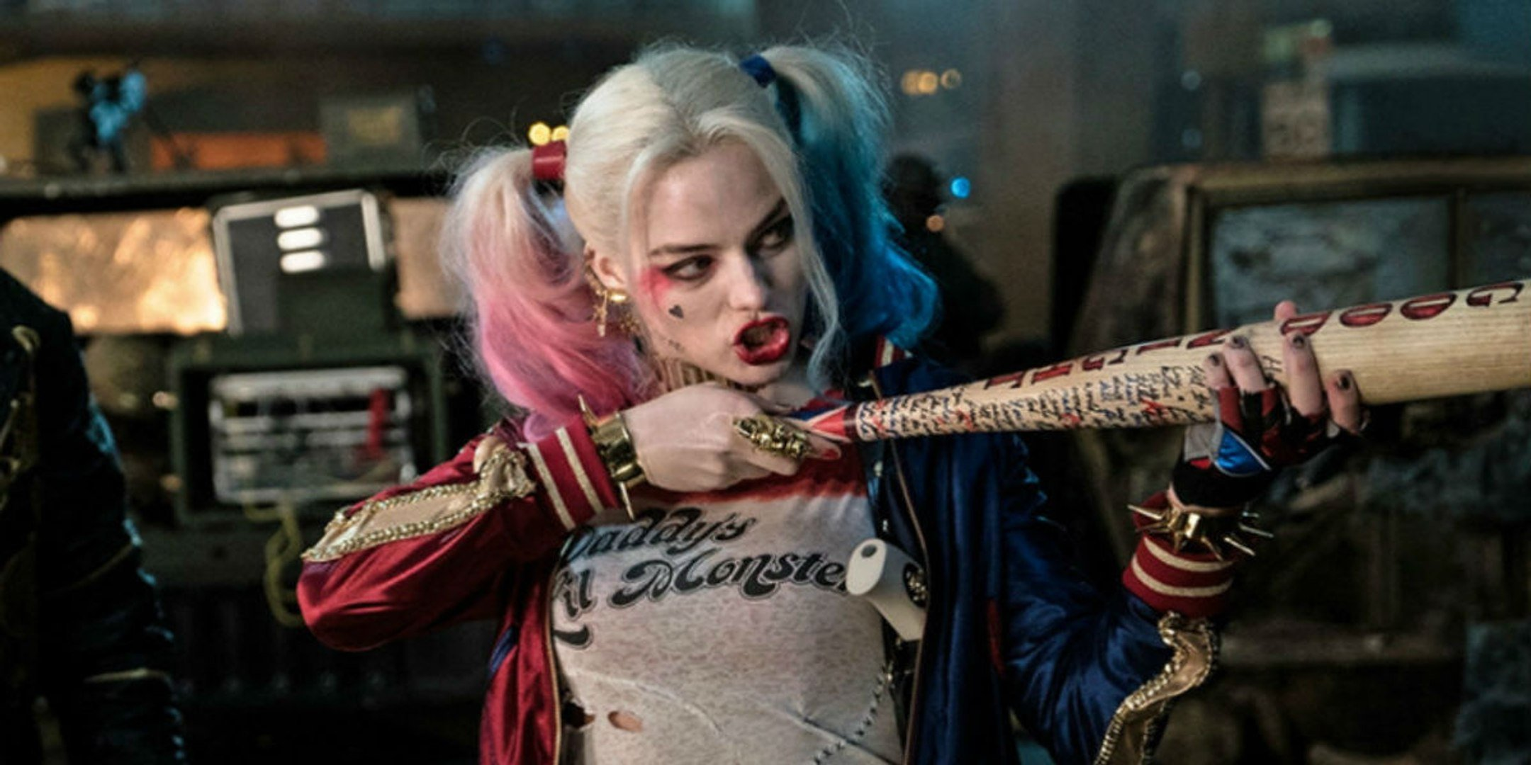 Harley Quinn and her bat back for James Gunn's The Suicide Squad.
