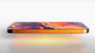 Orange iPhone 13 render