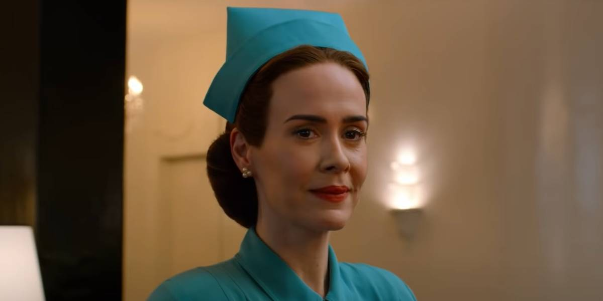 Sarah Paulson as Nurse Ratched in Ratched.