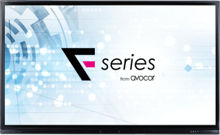 Avocor Launches F Series Touchscreen Interactive Displays