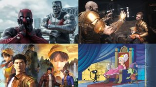 Deadpool 2, God of War, Shenmue, Disenchantmet