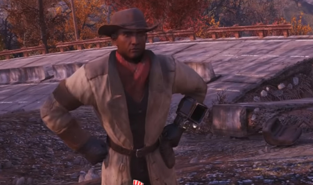 Fallout 76 player roleplays Preston Garvey, insists