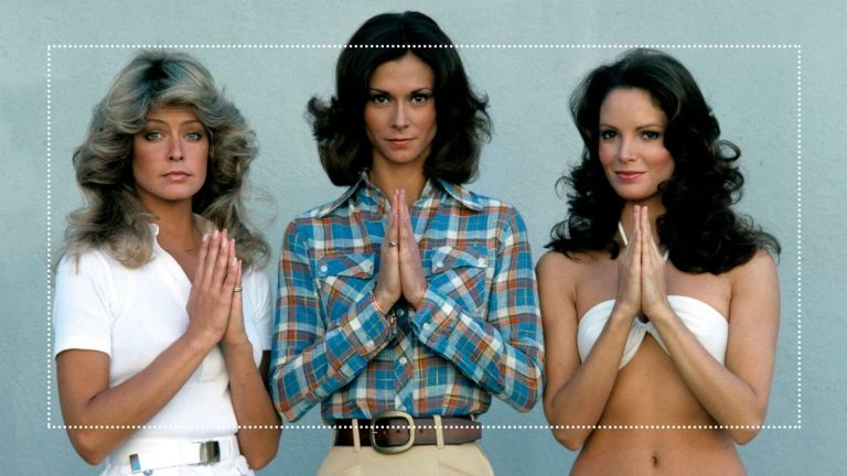 70s makeup main image of Charlie's Angels