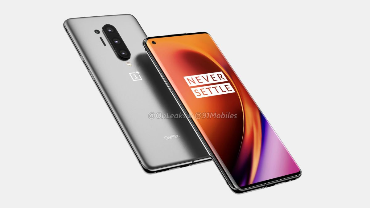 OnePlus 8 Pro allegedly spotted with dual punch-hole display