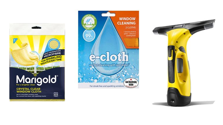What is the best way to clean windows? We tested Marigold, E-Clloth and Karcher window cleaners to find out