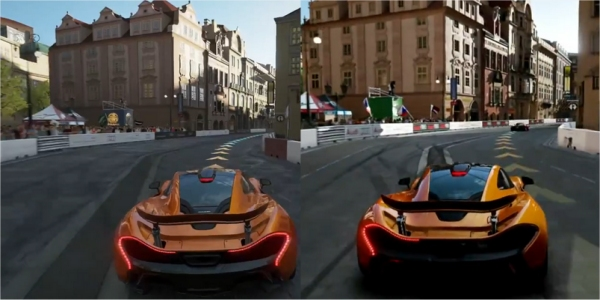 Xbox One Game Graphics : Forza on xbox one graphics downgraded from e build