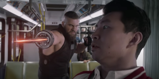 Razor Fist fights Shang-Chi