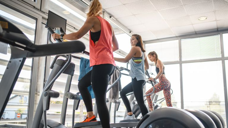 An elliptical machine workout is a great full-body workout