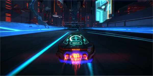 Games That Come With The Ps4 : Distance tron esque racing game could come to ps xbox