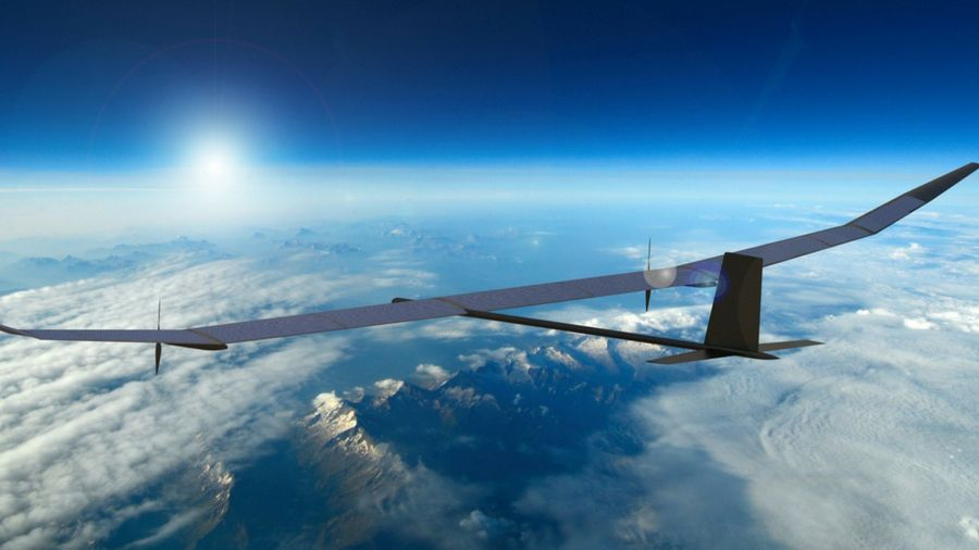 This solar-powered drone can stay airborne for a year