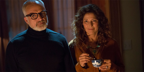 Bradley Whitford and Catherine Keener look creepy in Get Out
