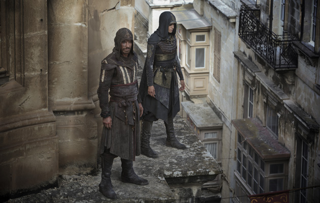 Assassin's Creed Michael Fassbender Ariane Labed