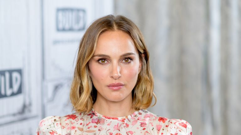 """NEW YORK, NEW YORK - OCTOBER 02: Actress Natalie Portman discusses """"Lucy in the Sky"""" with the Build Series at Build Studio on October 02, 2019 in New York City. (Photo by Roy Rochlin/Getty Images)"""
