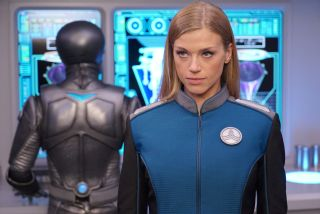 "Kelly Grayson (Adrian Palicki) shines in ""The Orville"" episode ""Tomorrow, and Tomorrow, and Tomorrow."""