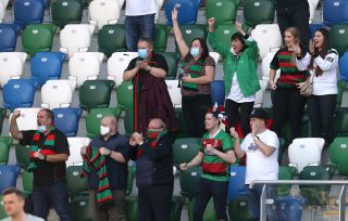 Ballymena United v Glentoran – Sadler's Peaky Blinders Irish Cup – Final – Windsor Park