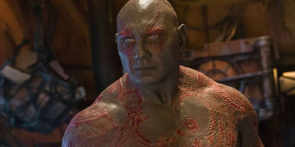 Dave Baujtista is Drax