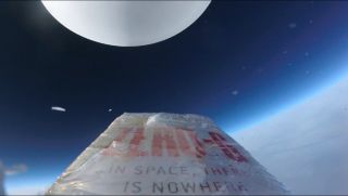 'ZERO-G' Book at the Edge of Space