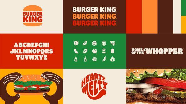 Burger King rebrand is a sizzling masterclass in flat design