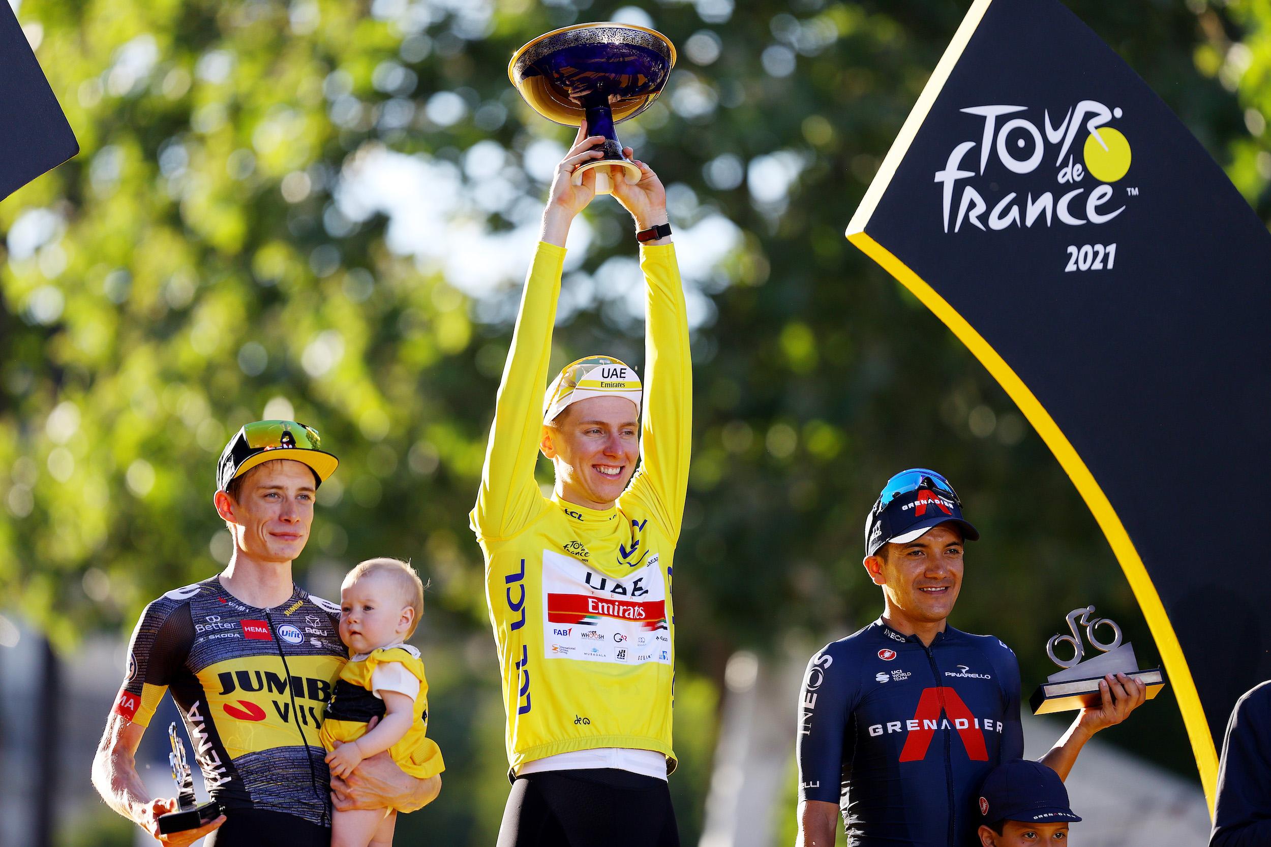 Tadej Pogačar wins the Tour de France 2021