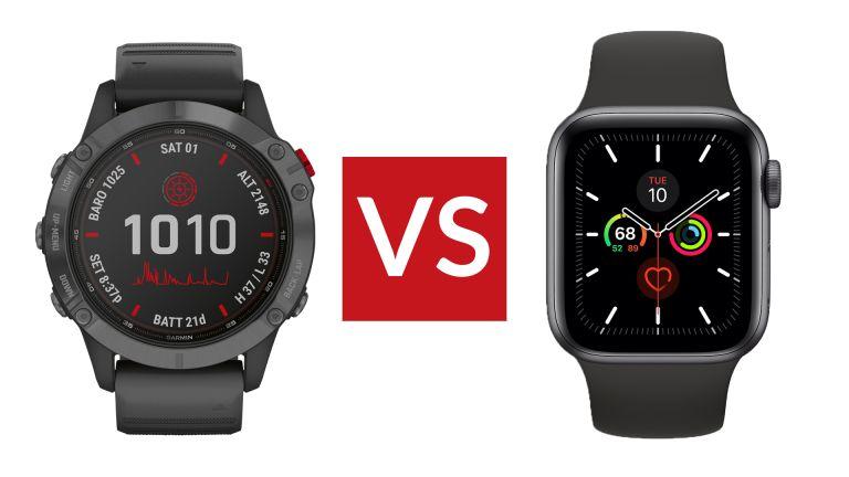 Garmin Fenix 6 Pro vs Apple Watch 5