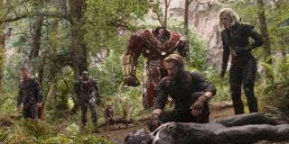 The surviving Avengers in Wakanda