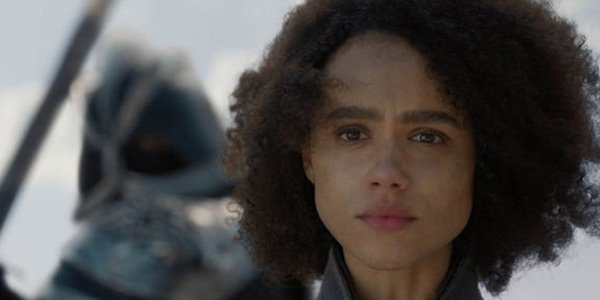 Missandei saying dracarys on Game of Thrones 2019