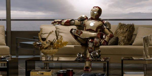 Iron Man 3 Couch Scene