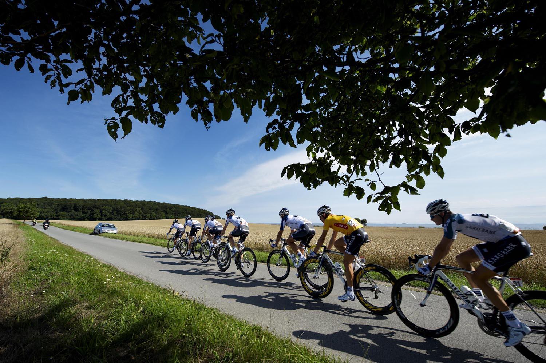 Saxo Bank lead, Tour of Denmark 2010, stage 4