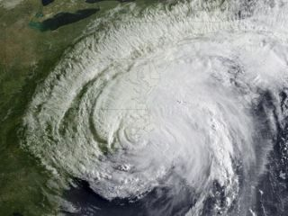 Hurricane Irene on Aug. 27.