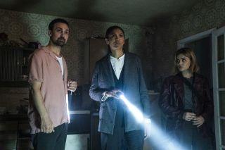 On the case... 'Ragdoll' stars Henry Lloyd-Hughes, Thalissa Teixeira and Lucy Hale.