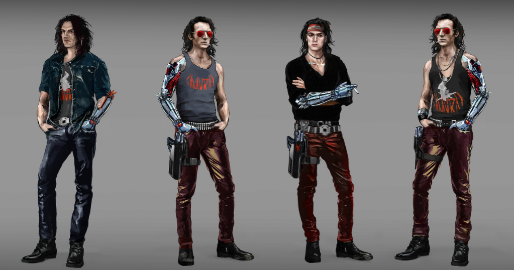 What Cyberpunk 2077's Johnny Silverhand looked like before he became Keanu Reeves