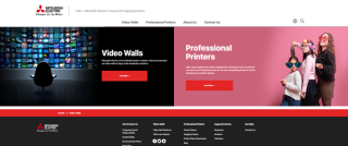Mitsubishi Electric Visual and Imaging Systems Division Launches New Website