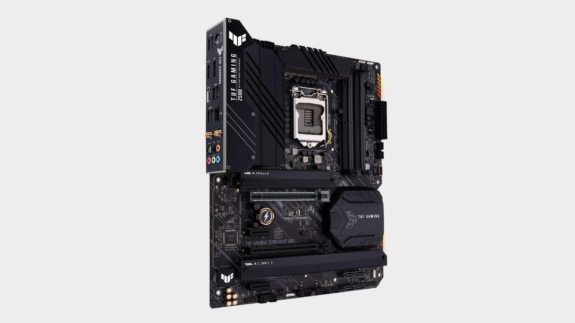 Asus TUF Gaming Z590 Plus gaming motherboard