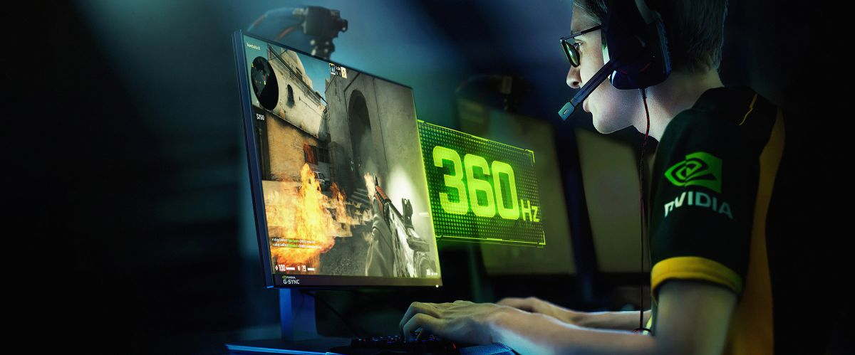 Nvidia unleashes the fastest displays in competitive gaming at CES 2020