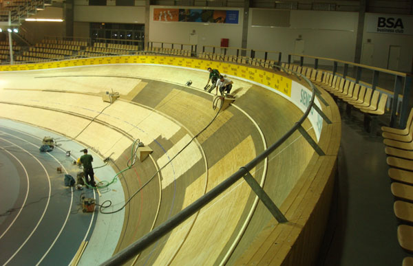 Copenhagen track arena