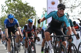 ARA Pro Racing Sunshine Coast sprinter Taj Jones wins stage 2 of the 2020 Tour de Langkawi, and has signed a three-year contract to join Israel Start-Up Nation from 2021
