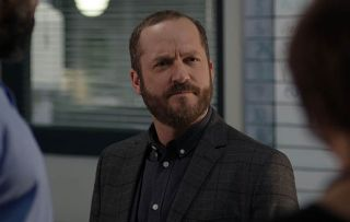 Casualty star Rick Warden makes the case for ED inspector Ciaran Coulson