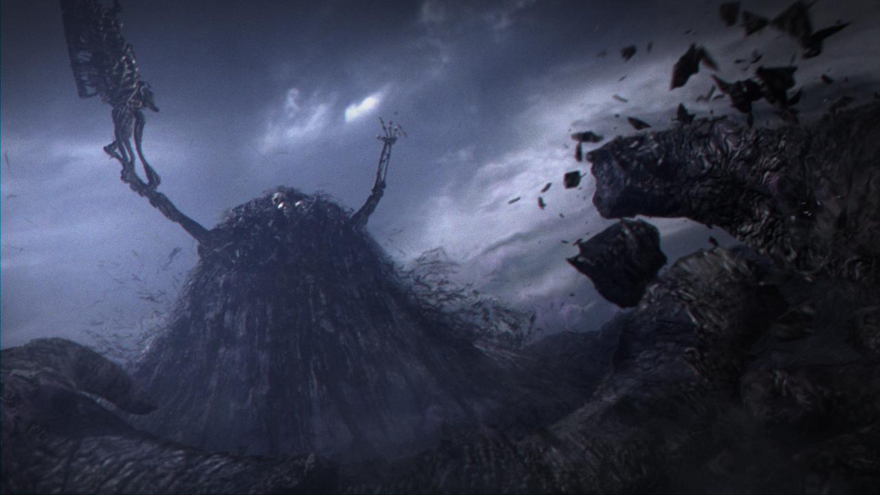 Dark Souls Gravelord Nito boss intro