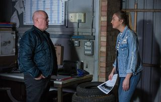 EastEnders Phil Mitchell Louise Mitchell