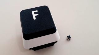 Giant F key
