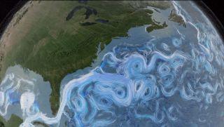 Ocean Currents in 'Dynamic Earth' Video
