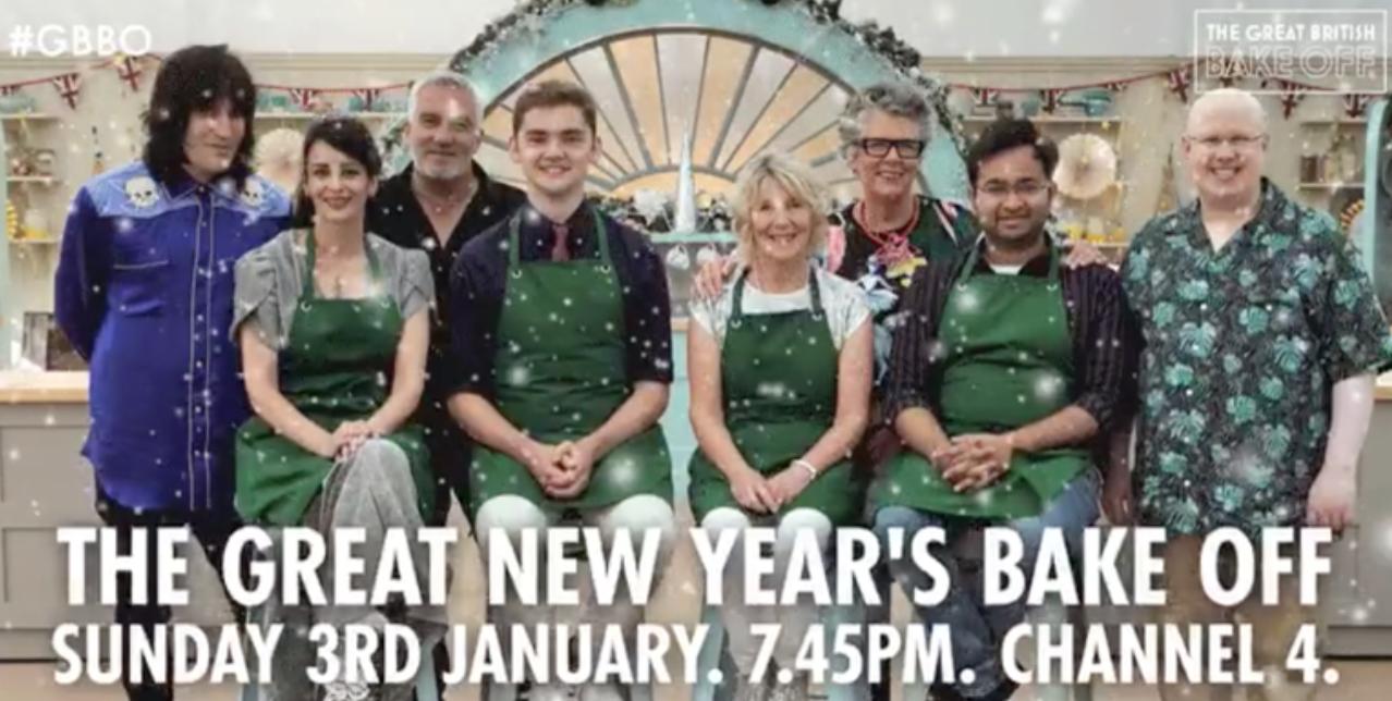 Especial de Navidad de The Great British Bake Off