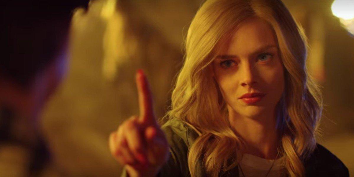 Samara Weaving in The Babysitter: Killer Queen