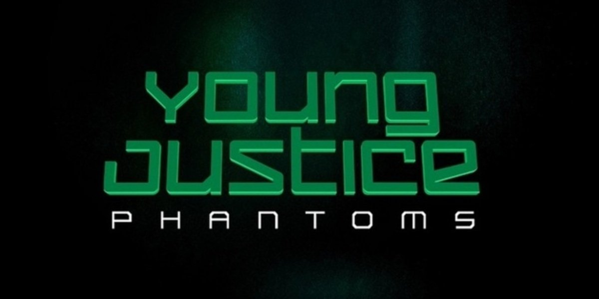 young justice phantom title card dc universe