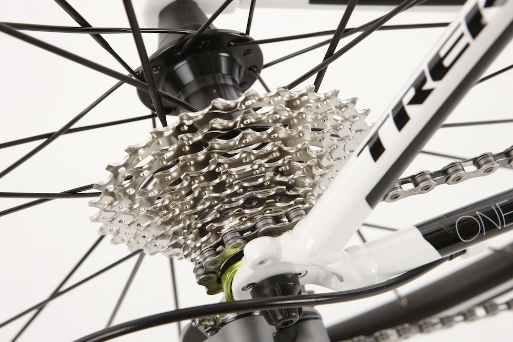 304c47b520c Shifting is very crisp, courtesy of Tiagra components. Pictured is the  12-30t cassette