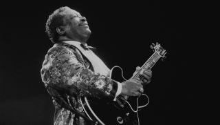 B.B. King performs at the North Sea Jazz Festival in the Hague, Netherlands on 9th July 1993