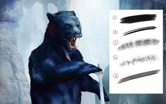 How to draw fur