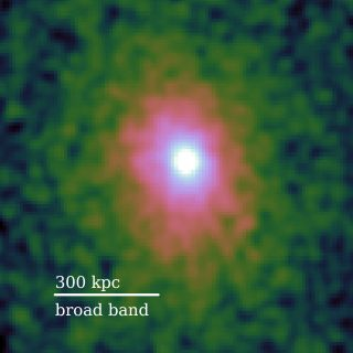 Chandra broadband image of PKS1353-341