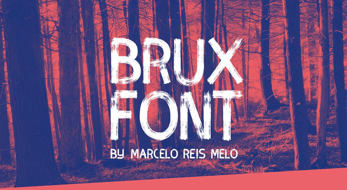 Best free fonts: Brux