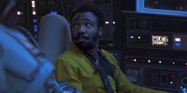 Lando Calrissian Solo A Star Wars Story Donald Glover millennium falcon